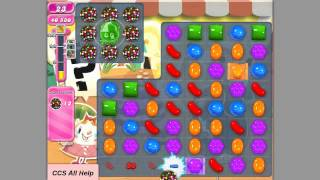 Candy Crush Saga Level 694 colour bomb fun.