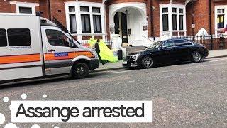 Ecuadorian Embassy Deserted after Julian Assange Arrested