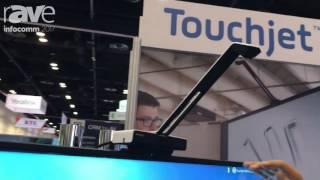 InfoComm 2017: Touchjet Demos Touchjet WAVE