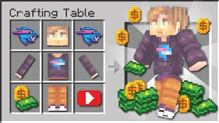 Minecraft if You Could Craft YouTubers...
