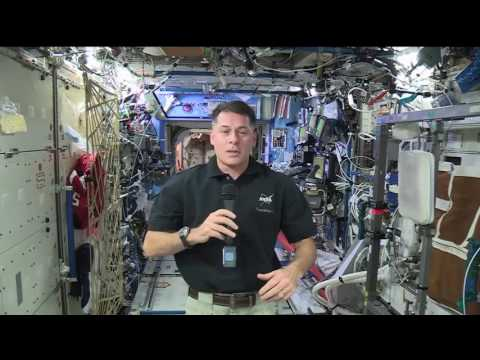 Space Station Commander Talks with Oklahoma Students