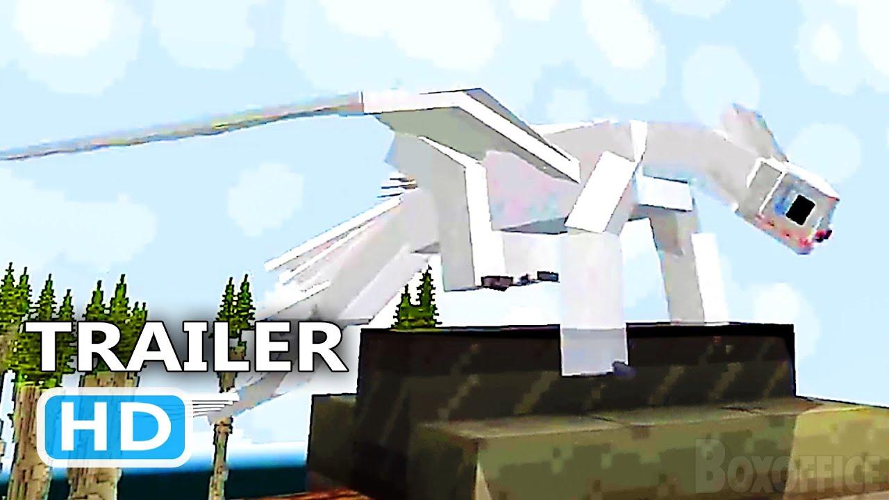PS4 - Minecraft Dreamworks Dragons DLC Trailer (2021)