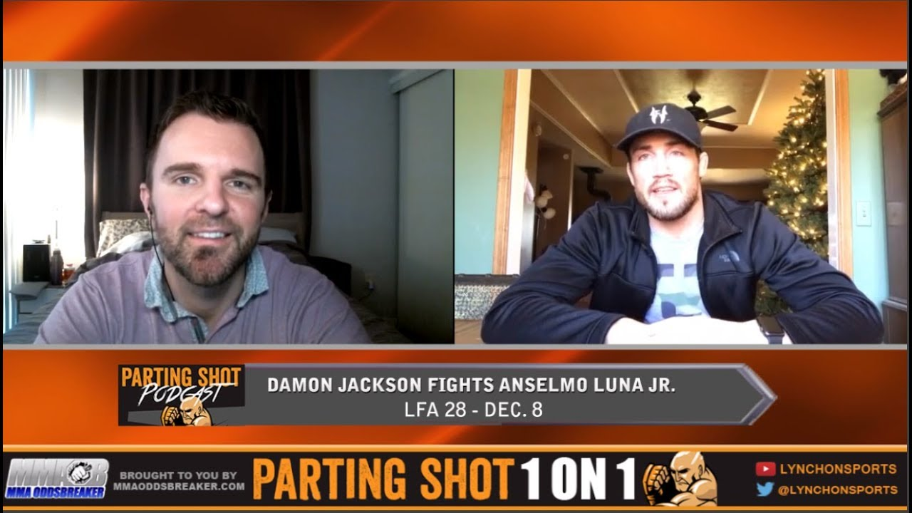 UFC veteran Damon Jackson talks move up to 155lbs for LFA 28 matchup