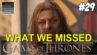 Game of thrones season 8 prep foreshadowing | game of thrones what you missed part 29
