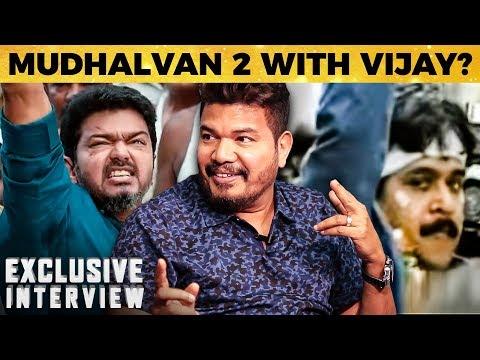 Thalapathy Vijay in Mudhalvan 2? - Director Shankar Answers! | 2.0 | Rajinikanth