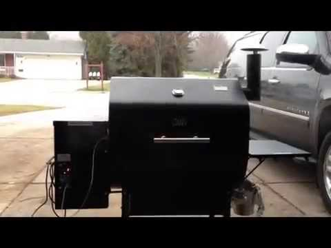 How to cook ribs on a GM DB Grill