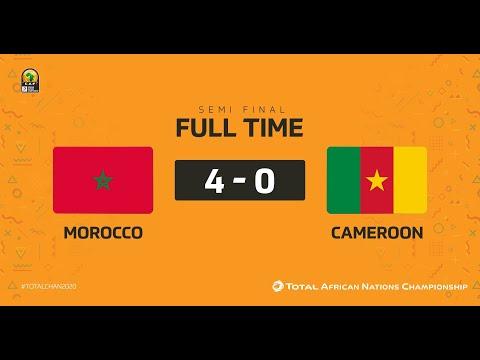 MOROCCO VS CAMEROON(4-0)-CHAN 2020 SEMIS-GOALS&HIGHLIGHTS