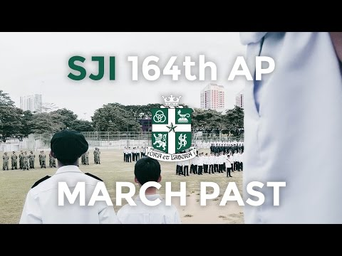 SJI 164th Annual Parade March Past