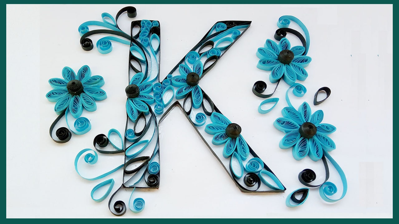 Diy quilled letter k paper quilling art designs youtube diy quilled letter k paper quilling art designs altavistaventures Images
