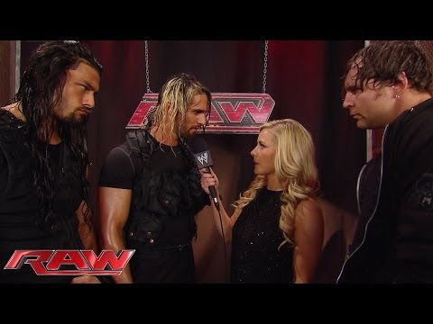 Roman Reigns says he can one-up Dean Ambrose: Raw, Feb. 17, 2014