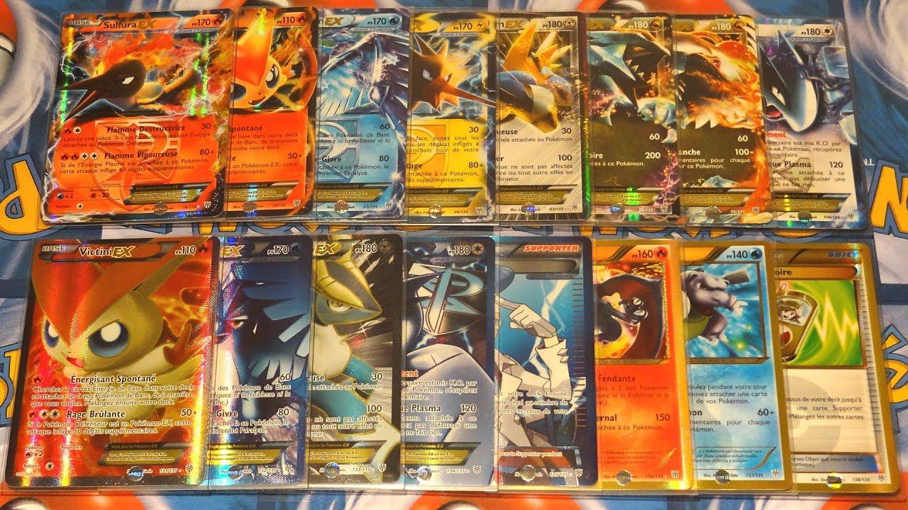 Toutes les cartes pok mon ultra rares de noir blanc temp te plasma compl t 100 - Carte pokemon team plasma ...