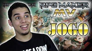 Jogando no RPG MAKER MV