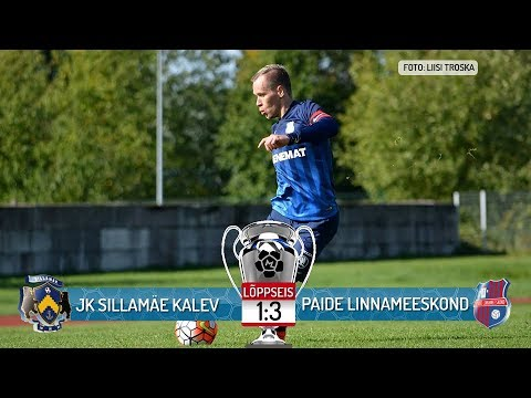 35. voor 2017: JK Sillamäe Kalev - Paide Linnameeskond 1-3 (1-1)
