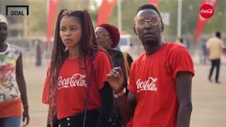 Simi thrills fans with Owanbe at the Coca-Cola World Cup Trophy Tour in Nigeria - Goal Nigeria