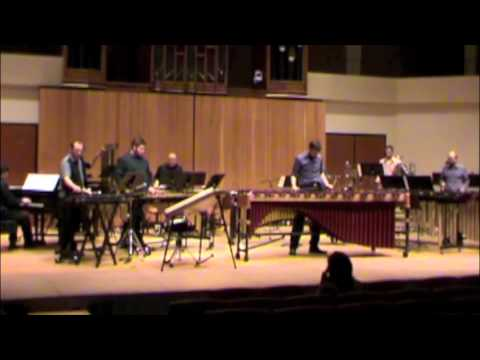 Journey for Marimba, Piano, and Percussion Ensemble by Matthew Coley