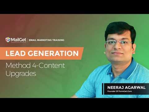 Video-10 Lead Generation Method-4 Content Upgrades