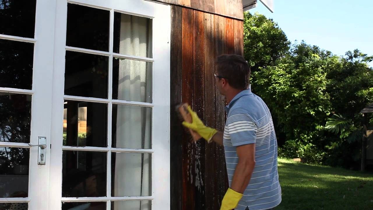 How to Prepare   Clear Coat Your Exterior Timber Surfaces   YouTube. Exterior Clear Coat. Home Design Ideas