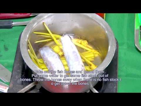 MYR - Cooking Mohinga (Traditional Dish)