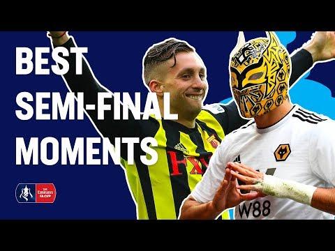 Deulofeu WONDER Goal, Jimenez Celebration & More! Best Semi-Final Moments | Emirates FA Cup 18/19