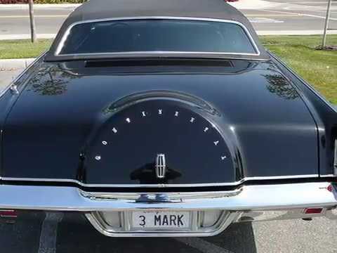 1971 Lincoln Continental Mark Iii Youtube