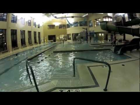 GoPro swimming at local pool