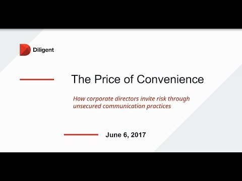 The Price of Convenience