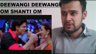 Om Shanti Om - Deewangi Deewangi - Bollywood Music Video Reaction