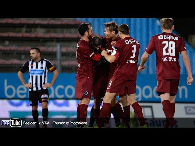 2013-2014 - Jupiler Pro League - 19. SC Charleroi - Club Brugge 2-2