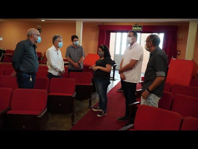 Theatro Municipal Capitólio recebe revitalização - TV Princesa