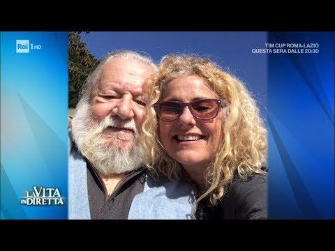 Elisabetta Villaggio: vi racconto mio padre Paolo Villaggio - La Vita in Diretta 04/04/2017