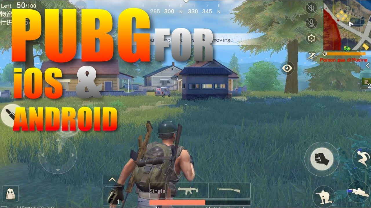 PUBG For IOS And Android Gameplay And Download Link‼️