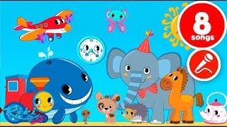 Привет, Малыш! NEW! Все серии - Большой сборник - Мультики для детей с караоке!