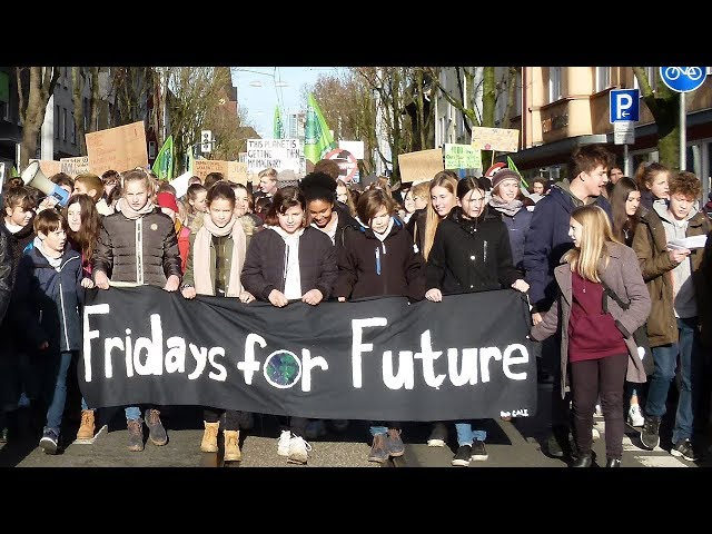 Fridays for Future Demonstration in Witten am 29.11.2019