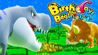 TRICERATOPS VS TYRANNOSAURUS! The Biggest Dinosaurs Arrive - Birthdays the Beginning Gameplay Part 2