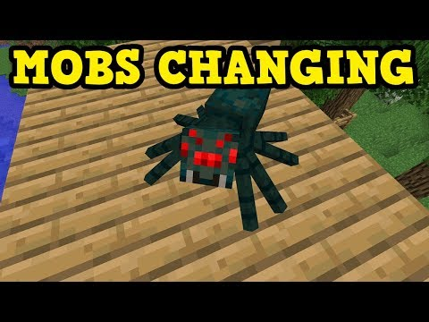 ALL Minecraft Mobs Are Changing! (1.13 & 1.14 News)