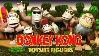 Donkey Kong Country Figures | Toy Site | Complete History & Review