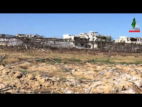 Effect of 2014 Israeli Agression on Agricultural Land in Gaza | Field Touring with Dr. Ahmed Hilles