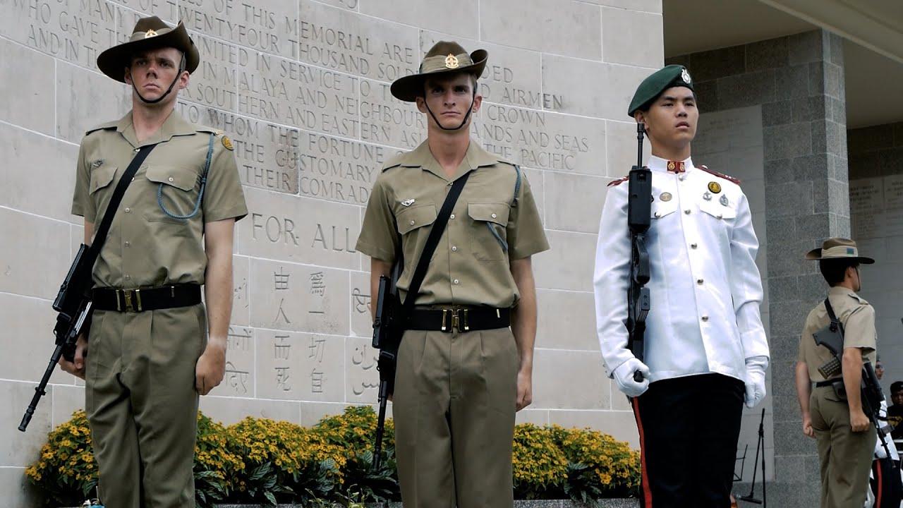 75th Anniversary of the Fall of Singapore, Kranji War Cemetery