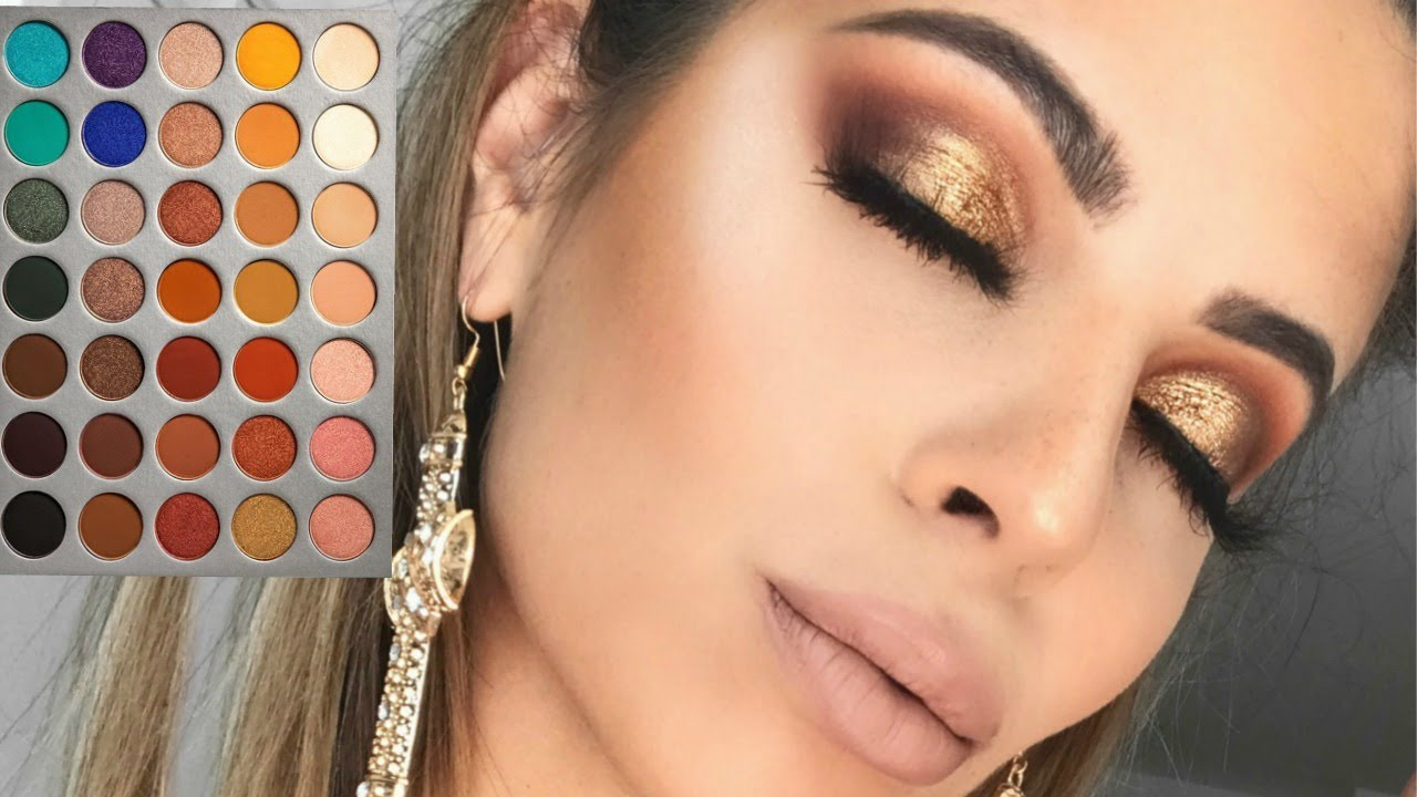 My Go To Makeup Tutorial Jaclyn Hill X Morphe Palette Youtube