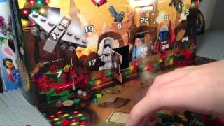 Lego Star Wars 75023 2013 Advent Calendar Live Build