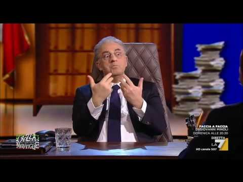 Crozza-De Luca: Basta col Sud del 'Eeeeeeeeh con 'sto sole vuoi lavorare!?'