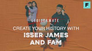 Maak Uw Geschiedenis met Isser James en Fam