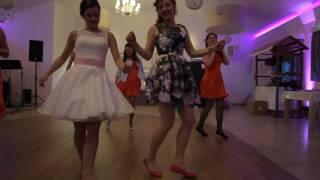 Ola & Marcin taniec niespodzianka panna młoda i druhny na weselu