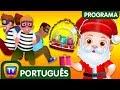 ChuChu TV Policia Ovos Surpresa - Episodio 13 - Salvando os presentes surpresa do Natal | ChuChu TV