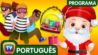 ChuChu TV Policia Ovos Surpresa - Episodio 13 - Salvando os presentes surpresa do Natal | ChuChu TV