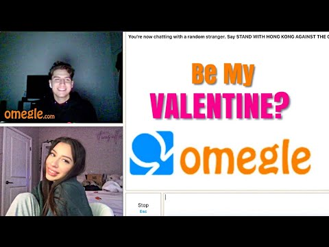 Asking Boys On Omegle To Be My Valentine