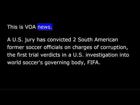 VOA news for Saturday, December 23rd,  2017