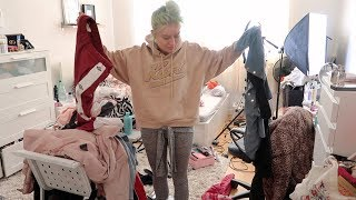 cleaning my room for the first time in 22 years