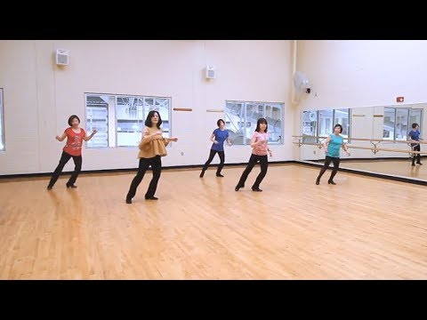 Capital Letters - Line Dance Dance & Teach in English & 中文
