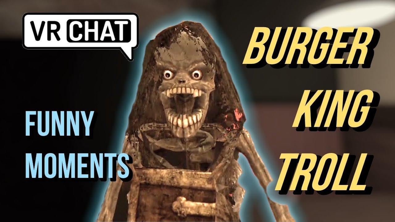 BURGER KING FOOT LETTUCE 2.0 [VRChat funny random moments] - YouTube